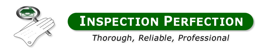 Inspection Perfection logo & header - Inspection Perfection - Thorough, Reliable, Professional