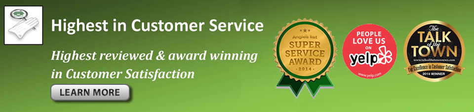 home inspections san diego - customer service awards