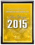 San Diego 2015 Award