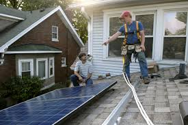 older home solar install